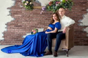в ожидании чуда, фотосессия, фотосессия в студии, фотосессия ставрополь, сертификат на фотосессию, фотосессия беременных с мужем